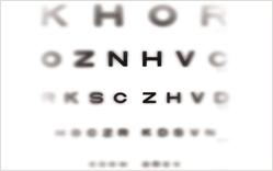 Vision Chart - Glaucoma