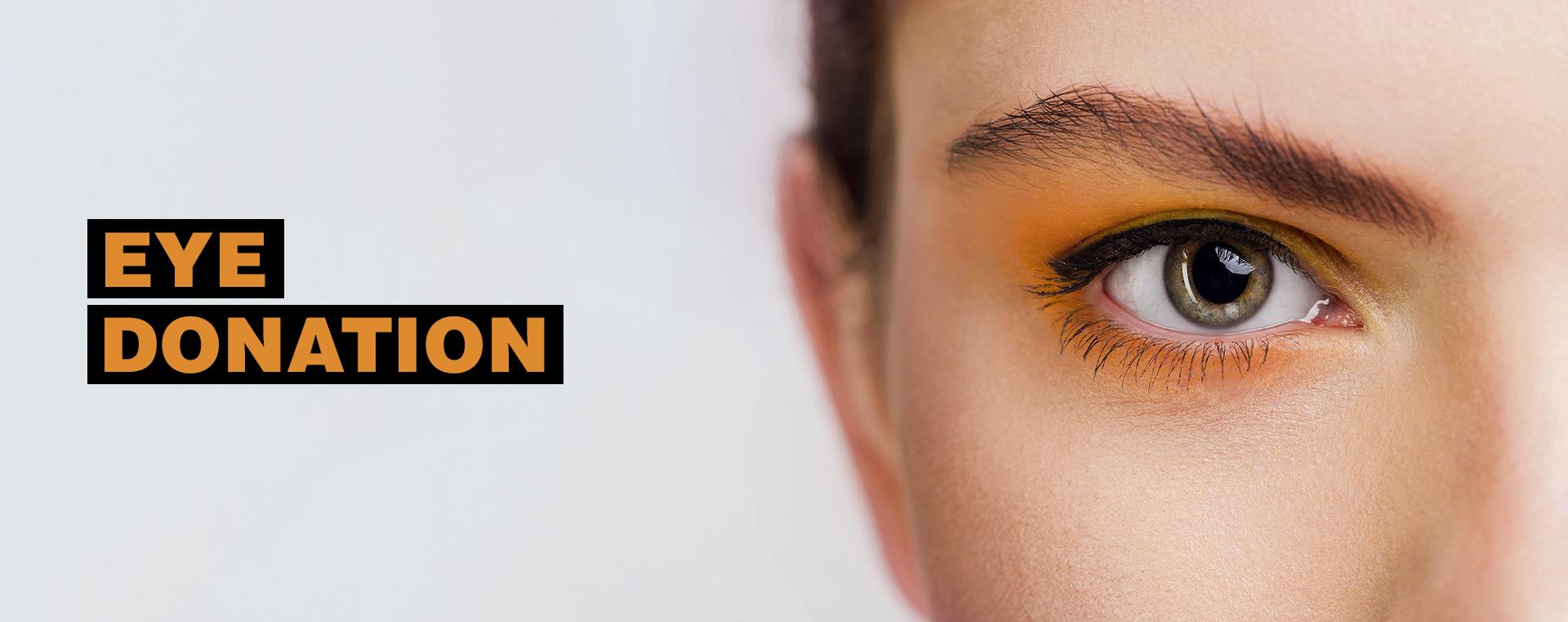 eye donation banner